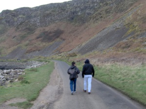 Brother and I at Giant's Causeway