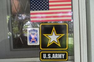 WW II Veteran Front Door