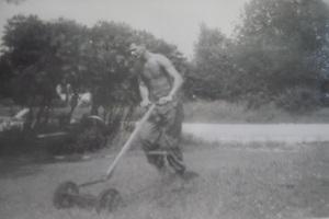 Veteran Works At Home