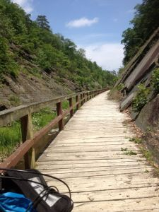 And who wants boardwalk bike paths through mountains as a vacation?