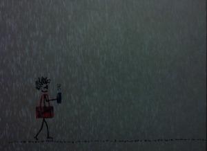 By Rain