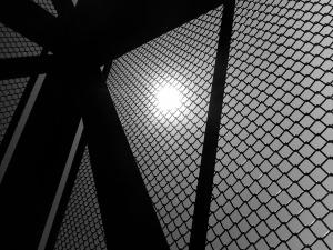 Fenced Sun