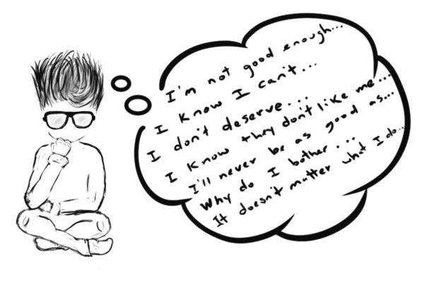 Negative. Self Talk.