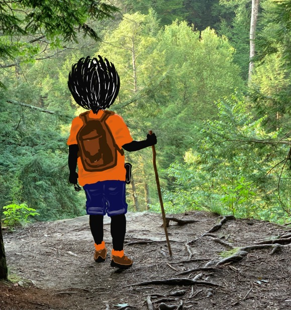 Hiking, Explore, Draw