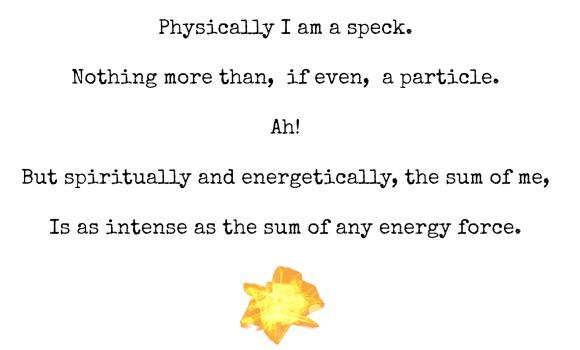 Sparkle, Speck, Minute