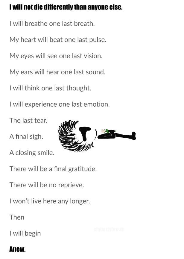 Death, Flower