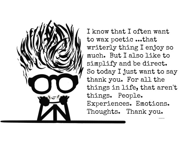 Thanks, Table, Gratitude