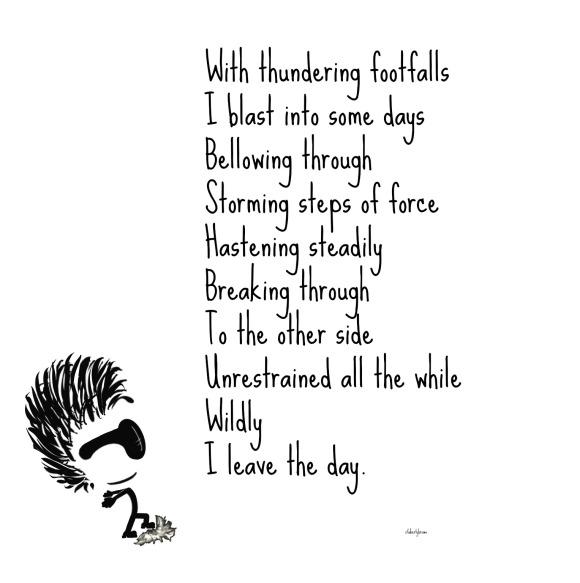 wild, thunder, day