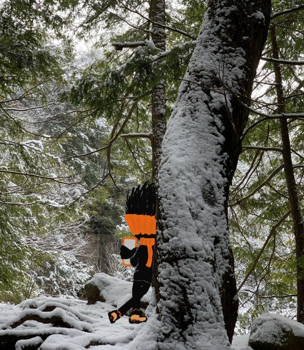 Winter, Hike, Snow