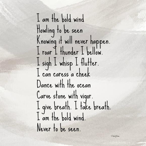 Wind, Bold, Power
