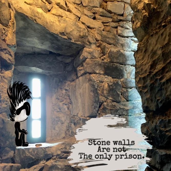 Stone, Trapped, Prison