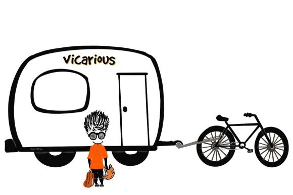 Vicarious, Travel, Bike, Camper