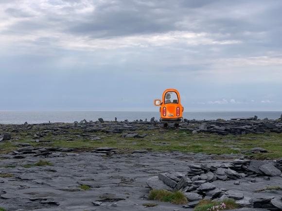 Orange Car, Ireland