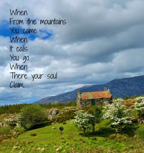 Mountain, Ireland, Cottage