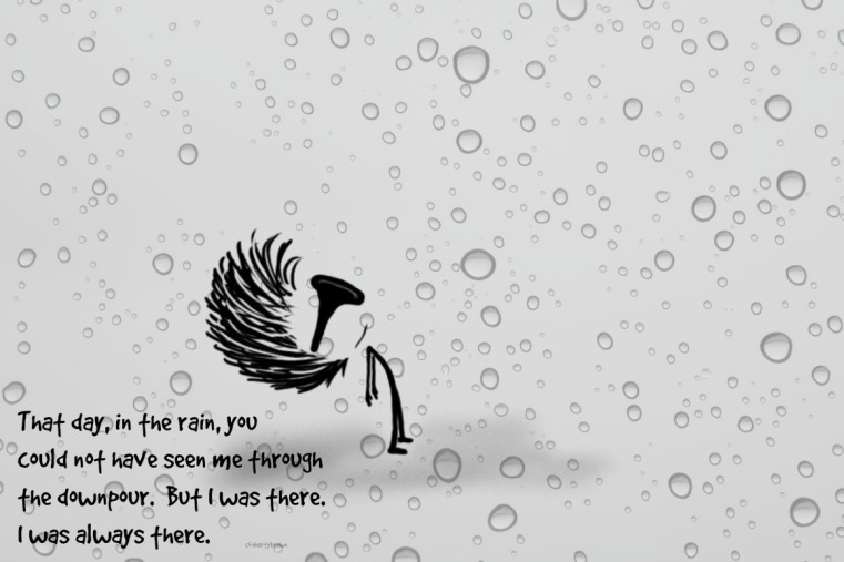 Rain, Literal, Figurative