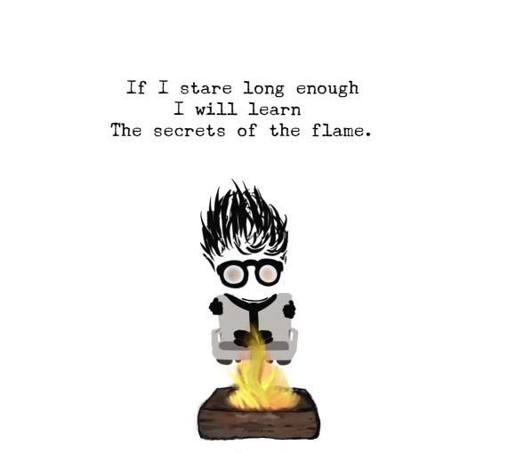 Fire, Flame, Secret