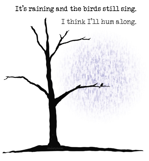 Tree, Rain, Sing