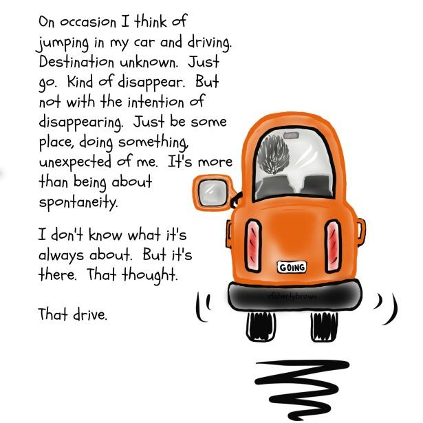 Orange Car, Drive