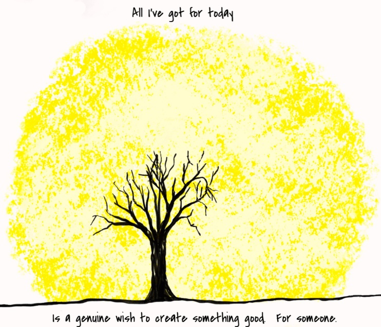 Sun, Tree, Kind