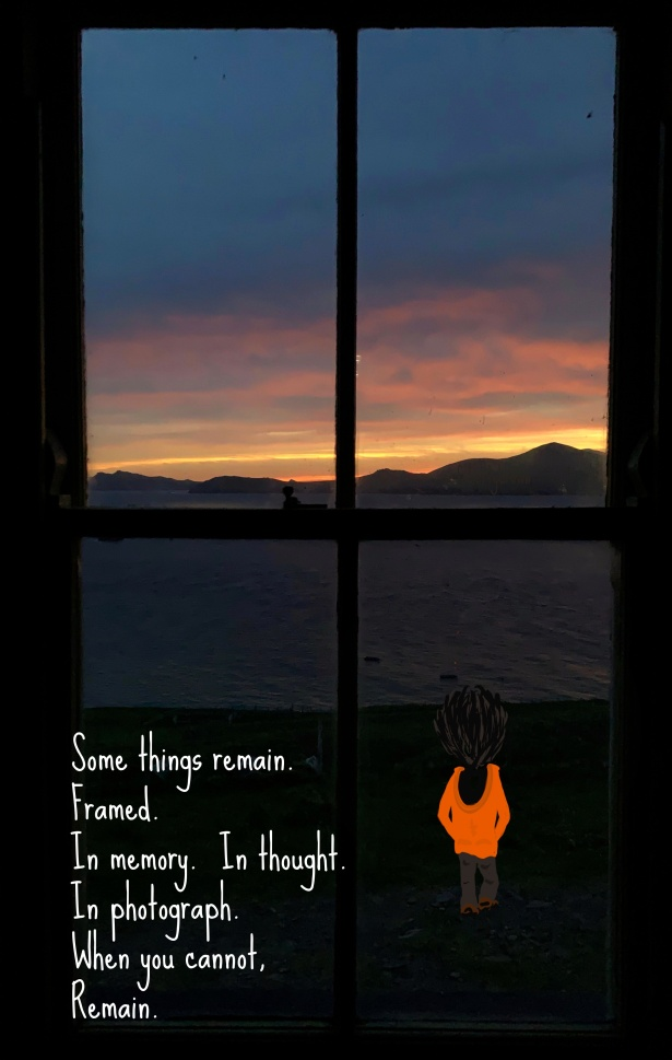 Giant, Island, Window, Frame