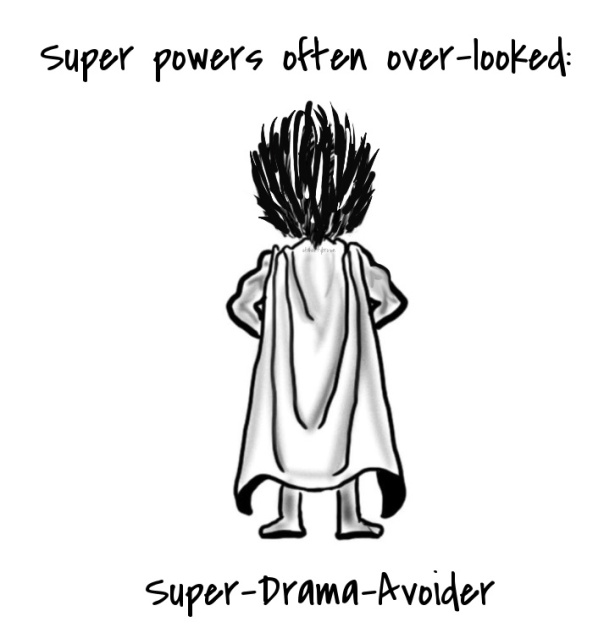 Super Power, Cape, Drama