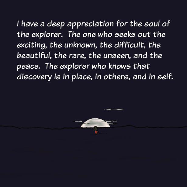 Explore, Discover, Peace