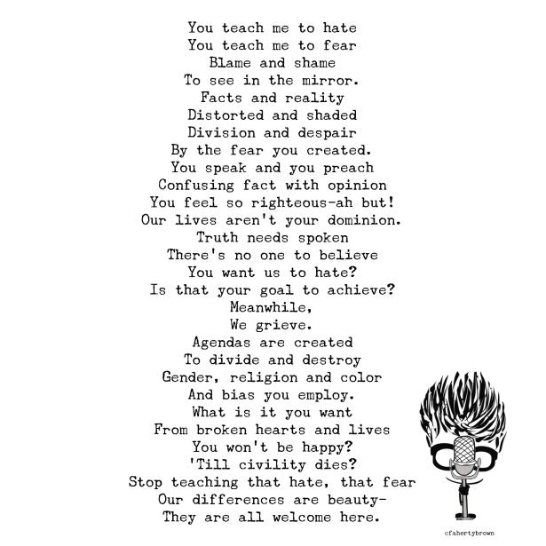 Slam, Poetry