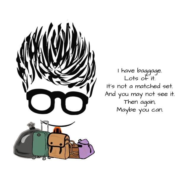 Baggage, Humor