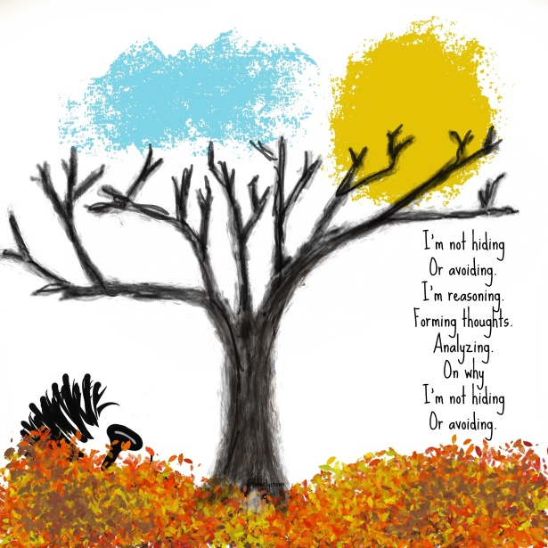 Tree, Leaves, Autumn, Childhood, Reasoning