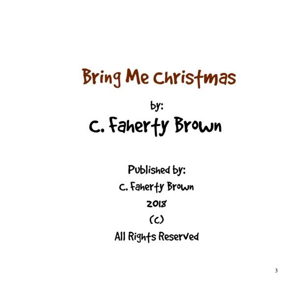 (c)Bring Me Christmas