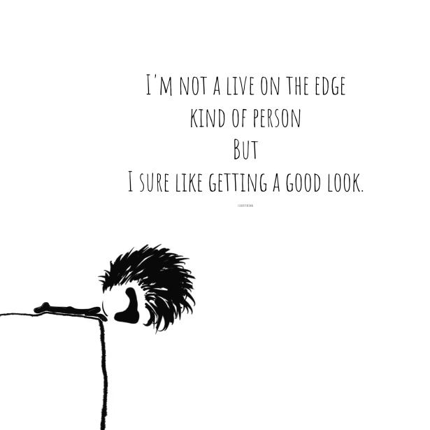 Edge, Cliff, Adventure