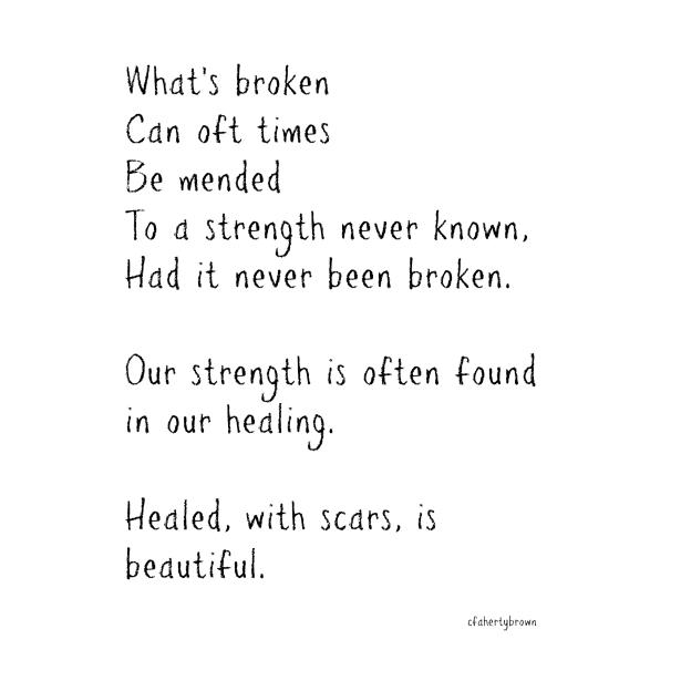 Broken, Mended