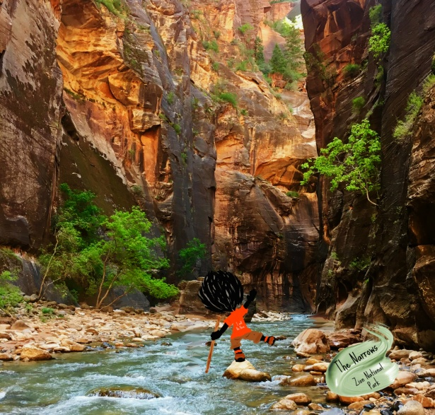 The Narrows, Zion, Travel, Water, HIke