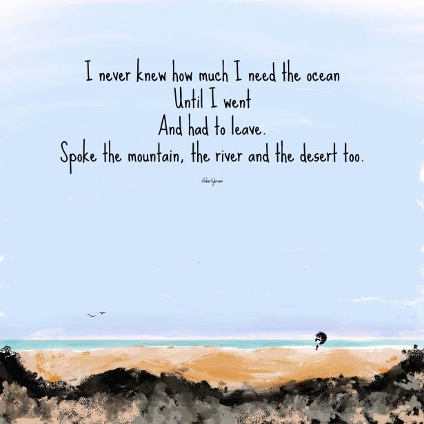 Needs, Ocean, River, Trees, Desert,