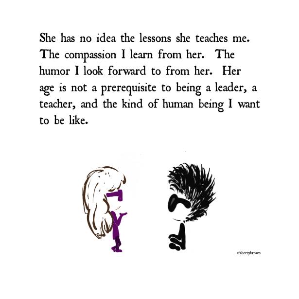 Child, teach, compassion