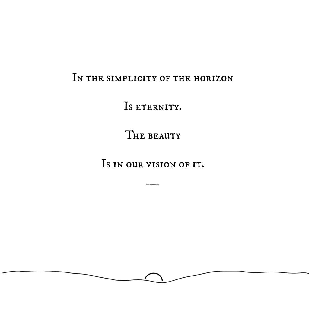 Horizon, Eternity, Vision