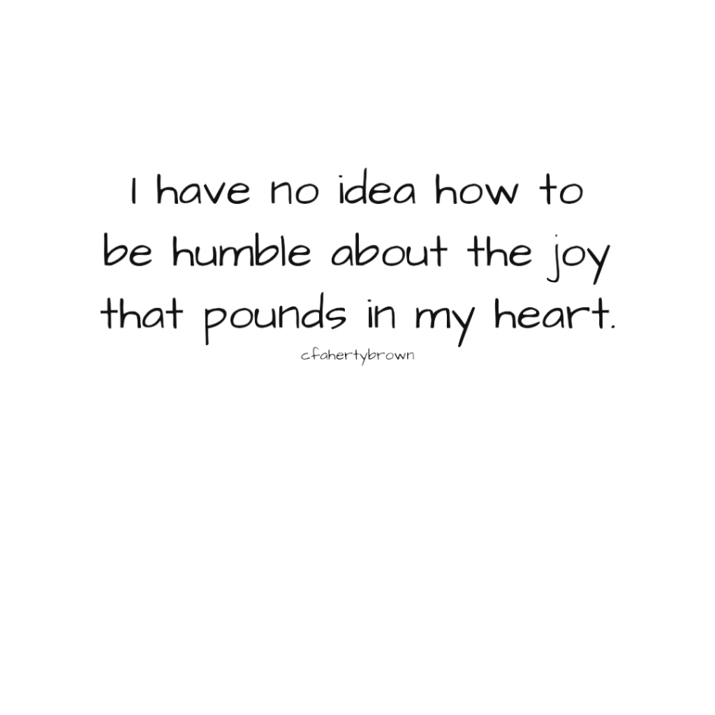 humble, joy, emotion, contain, express, feel,