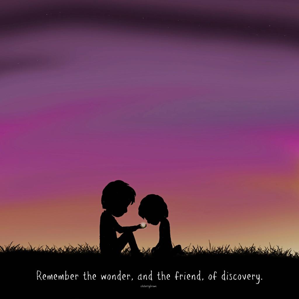 firefly, childhood, discovery, friendship, fun, wonder, amazement, art, poetry,