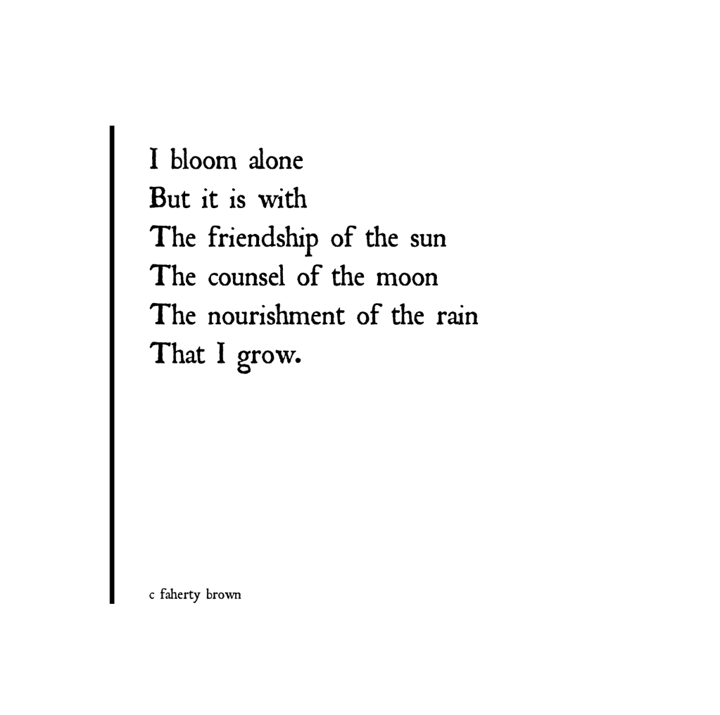 symbolism, grow, bloom, sun, moon, rain, people, influence,