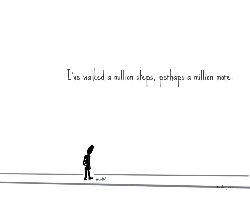 More, Poetic, Walk, Million, Steps, stories, draw,